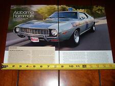1972 AMC JAVELIN AMX POLICE HIGHWAY PATROL - ORIGINAL 2007 ARTICLE