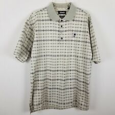 Ashworth sz L polo golf shirt short sleeved 100% cotton