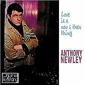 ANTHONY NEWLEY: LOVE IS A NOW AND THEN THING 2011 CD  1960 recording NEW