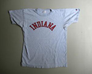 Vintage Indiana Champion Single stitch Shirt small cotton rayon