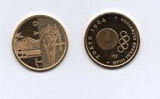 Medalla JUEGOS OLIMPICOS TOKYO 64 ( bañada en Oro 22 Kilates )