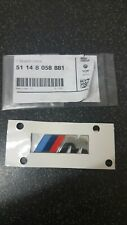 GENUINE NEW BMW M POWER M SPORT M TECHNIC EMBLEM WING BADGE 51148058881