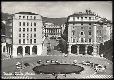 cartolina TRIESTE piazza oberdan AUTO