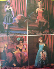 SEWING PATTERN McCalls 3674 MOULIN ROUGE SALOON CAN CAN GIRL Ms sz 6-12
