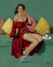 "Art Frahm, ""I Deal"", Open Ed Digital print, Image Size 20""h x 16""w"