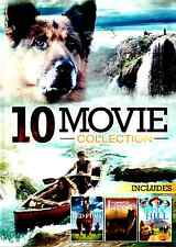 10 Movie Family Adventure Pack DVD 2-Disc Set, Lassie, Red Fury, Family Children