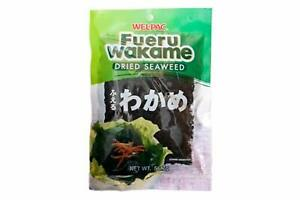 WELL-PAC Fueru Wakame Dried Seaweed Great source of iodine for making Miso so...