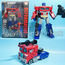 BPF War for Cybertron Siege Voyager Optimus Prime Action Figure 18cm Toy
