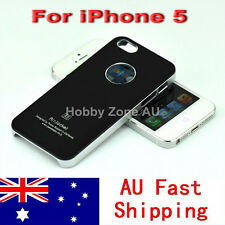 iPhone 5S 5 Aluminum Elegant Design Hard Case Cover Premium Quality Black Color