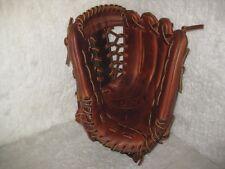 "Wu baseball glove pro-grade steerhide leather 12.5"" modified trap web"