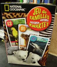 National Geographic Happy Families  playing cards new