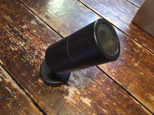KESTRAL - Adjustable Wall Spotlight in Aluminium Black