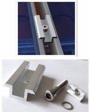Solar Mittelklemme, Komplett Befestigungsset, Rahmenhöhe 30 - 50 mm, Solarmodul