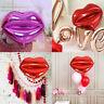 2Pcs Sexy Lip Shaped Aluminium Film Balloons Wedding Party Background DIY Decor