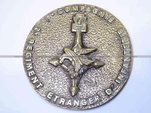 Médaille de la 7e Compagnie Saharienne Portée du 2e REI Légion étrangère