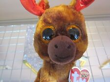 TY MAPLE BEANIE BOOS MOOSE CANADA 150 ANNIVERSARY EXCLUSIVE + FREE CANADA GIFT!