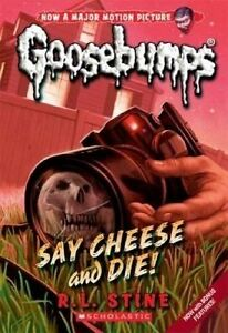 Goosebumps Classic: #8 Say Cheese And Die! by R.L.Stine - Paperback - FREE POST