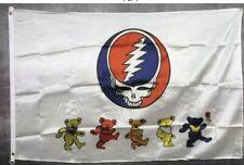 NEOPlex Greatful Dead Bears Traditional Flag