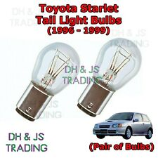 Toyota Starlet Tail Light Bulbs Pair Rear Tail Light Bulb Lights Glanza (96-99)