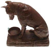 Great Dane Dog Figurine Bronze Large Ornaments Sculptures