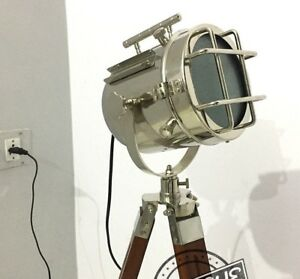 Vintage Modern night-LED-Dim-Floor-Lamp stand beach lighthouse movable-stan