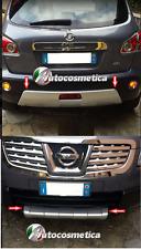NISSAN QASHQAI 2007-2009 Protección Parachoques Trasero Modelo Tuning Grigio