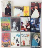 Lot of 11 Vintage Cassette Tapes - B-52's, Midler, Bricknell, C&C Music, Bush
