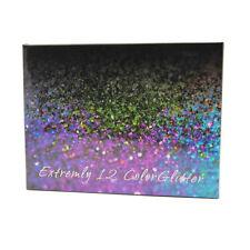 12 Color Glitter Shimmer Eye Shadow Eyeshadow Palette Makeup Powder Long Lasting