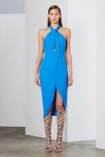 Oceanus Dress Blue by BEC & Bridge Halter Neck Size 8