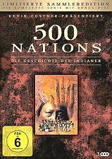 500 Nations-Histoire des Indiens-Kevin Costner-Ltd Ed (3 DVD) * Nouveau OVP *