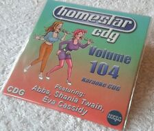Karaoke CDG disc Homestar HSG104, see Description 15 pop trks/arts