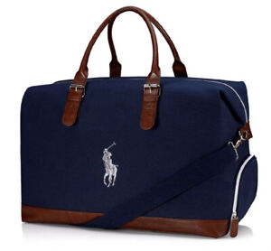 Brand New!! Ralph Lauren Blue Weekend/Duffle/Holdall Mens Travel Bag!!