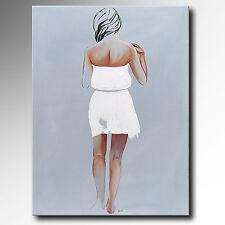 ORIGINAL Acryl Gemälde HANDGEMALT Bild abstrakt Malerei modern Kunst Acrylbilder