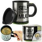 Auto Mixing Tea Cup Stainless Plain Lazy Self Stirring Mug Coffee Soup