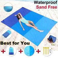 Extra Large Waterproof Picnic Blanket Mat Travel Outdoor Beach Camping Soft Mats