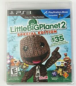 Brand New FACTORY SEALED Little Big Planet 2 Special Edition For PS3 Console!