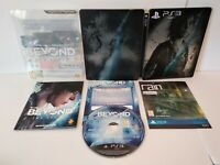 BEYOND Two Souls Edition Spéciale Steelbook PS3 -PAL Fr -Comme neuf -Complet