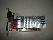 Scheda video PCI-E funzionante AX3450 256 mb vga dvi ottima con dissipatore