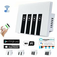 Wifi Smart remote light switch - Wall Touch Switch, Wireless Voice Control