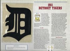 1911 DETROIT TIGERS  WILLABEE & WARD U.S COOPERSTOWN COLLECTION