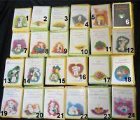 Postkarten Geburtstagskarten Kuvert Schaf Bobbl Liebe Love Herz Birthday Freunde