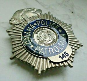 Historisches Abzeichen - Collector police badge - Nebraska Omaha Police