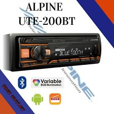 Alpine UTE-200BT Car Bluetooth Android Car Stereo AUX USB High End Audio