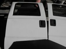 2001 FORD F250 SUPER DUTY LEFT REAR white Door manual with window