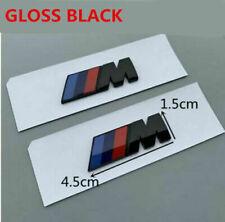 2 x M Badge Metal Emblem Logo M-Power fits FOR ///M M2 M3 M4 M5 M6
