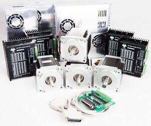 Promote 4Axis Nema34 Stepper Motor 878 oz.in 2A&Driver CNC Router