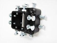 """WMA Heavy Duty Anti Wobble Rattle Tilt Bracket for 2"""" Tow Hitch Class 3 and 4"""