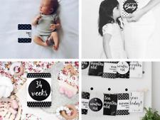 Gift for Baby Shower - Milestone Cards & Baby Book Bundle - Gender Neutral