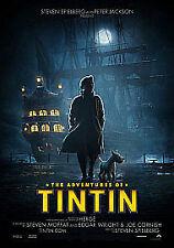 The Adventures of Tintin: The Secret of the Unicorn DVD (2012) Steven Spielberg
