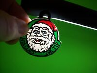 Williams TAXI Original 1988 Pinball Machine Plastic Promo Keychain Santa Claus